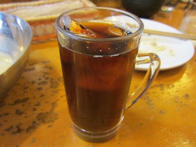 食後はアイスコーヒーが付く