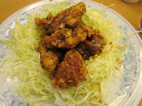 若鶏の中華風唐揚げ