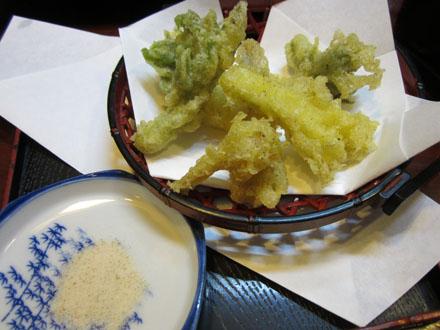 ウドの天ぷら