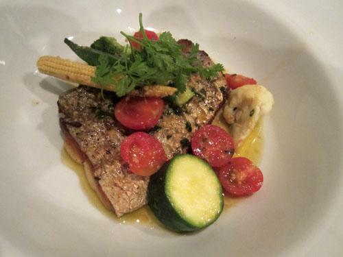 太刀魚のソテー アンチョビバターソース
