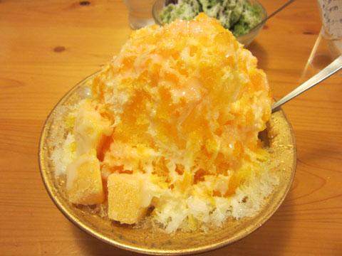 マンゴーミルク氷