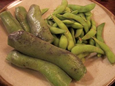 枝豆とそら豆