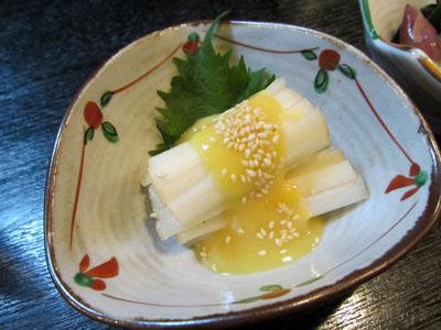ウド の 酢味噌