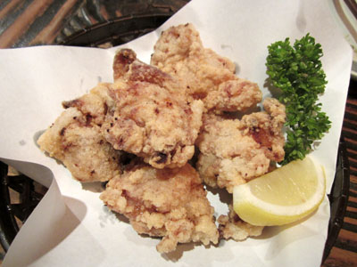 鶏の唐揚げ 塩麹味