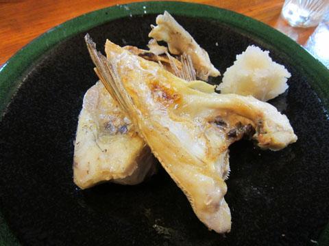 鯛カマ塩焼