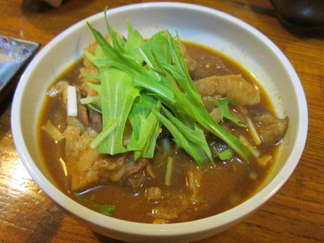 ピリ辛牛すじ豆腐