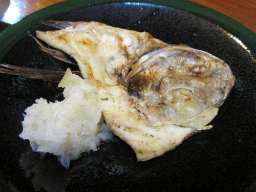 鯛カマ塩焼き