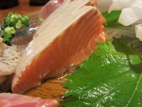 見事な時鮭のルイベ