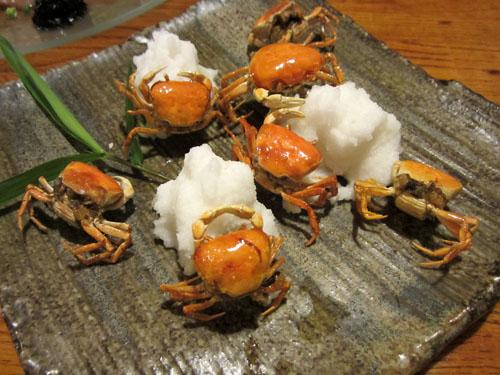 沢蟹の唐揚げ