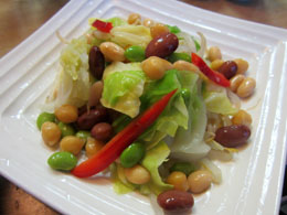 豆×2サラダ