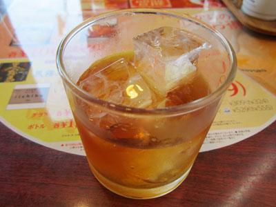梅酒ロックで乾杯!