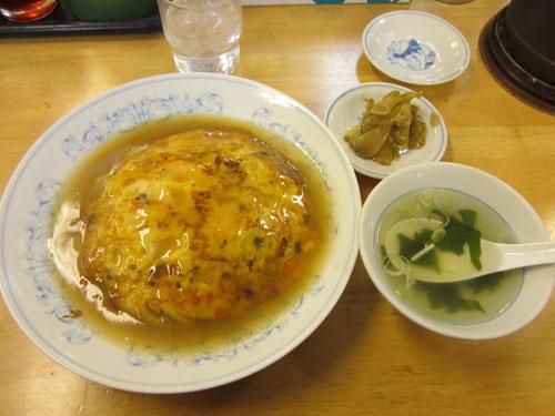 これが「関西風天津飯」