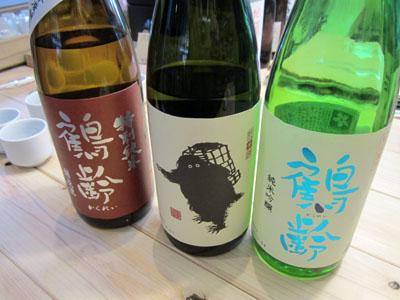 これ全部、新潟県は南魚沼市のお酒「鶴齢」