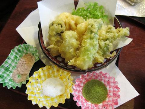 天ぷら三点盛