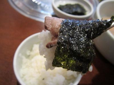 韓国海苔ごとご飯をROLLしてIN!