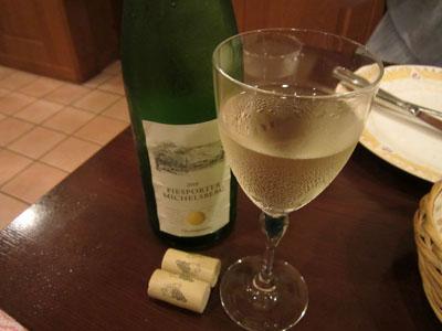 白ワイン2本目に突入