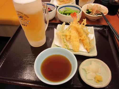 天ぷら盛合わせ付 天ぷらセット