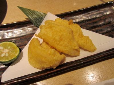 ヒラメの天ぷら