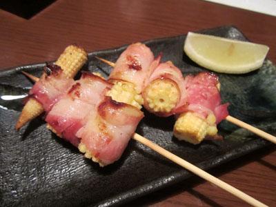 旬野菜の串焼き
