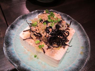 ねぎ塩昆布豆腐