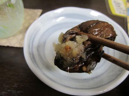 牡蠣はシッカリと煮込まれている