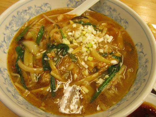 これが「酸辣麺」