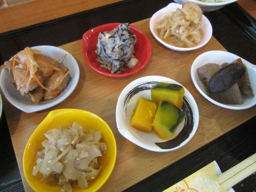 6種類のおばん菜