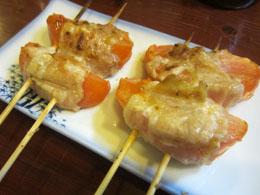トマト肉巻焼