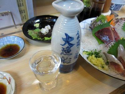 魚料理にはやっぱり日本酒だよね