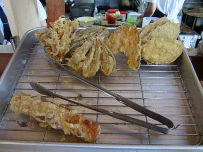 天ぷらもいろいろある
