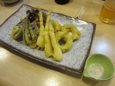 島野菜の天ぷら盛り合せ