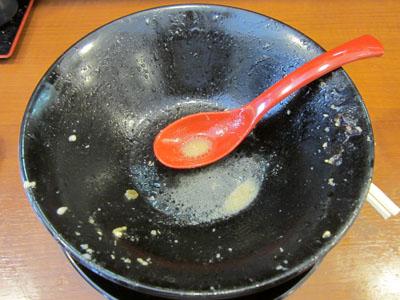 スープも飲み干し、制覇したぜ!