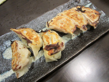 竹内さんちの手作り餃子