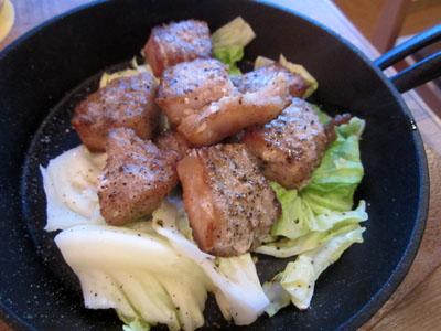 豚ロースの炙り焼き
