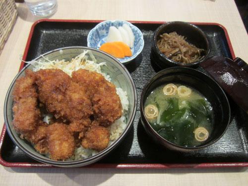 新潟タレカツ丼セット