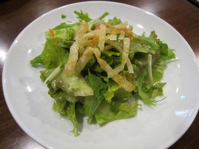 「59パスタ」のサラダ