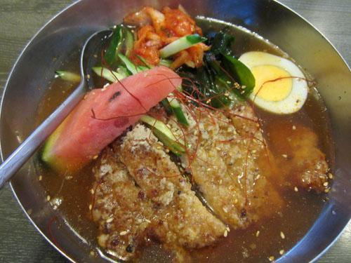 ロース入り冷麺