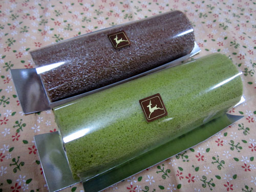 「ショコラ」と「狭山茶」