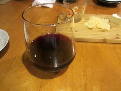 ワインに変更
