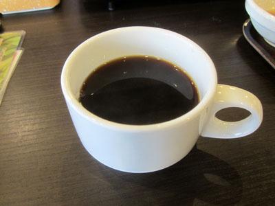 コーヒーを飲んで〆