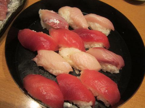 寿司をもう1回おかわり