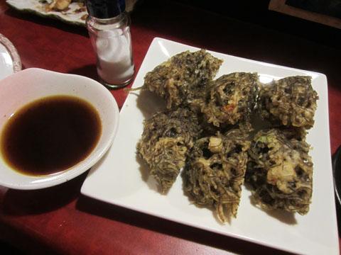 もずくの天ぷら