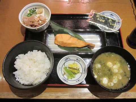 焼魚朝定食