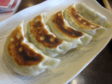焼き餃子 野菜