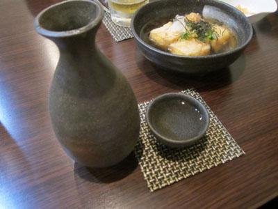 日本酒の冷やにチェンジ