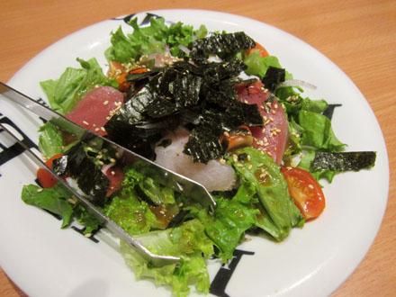 魚民海鮮サラダ