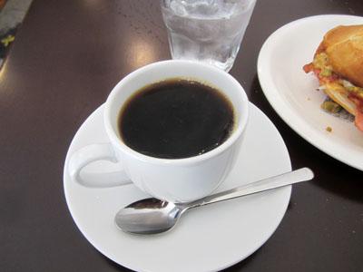 コーヒーも旨い