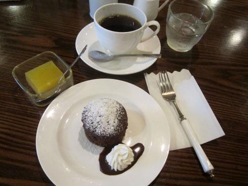 コーヒーとゼリー、そしてフォンダンショコラ