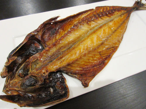 「日替わり焼魚」はサバ