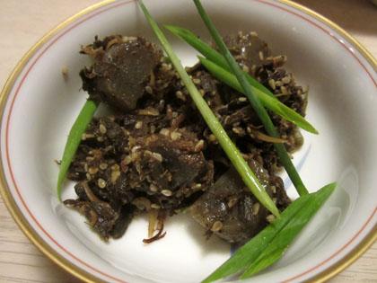 マグロの山椒煮